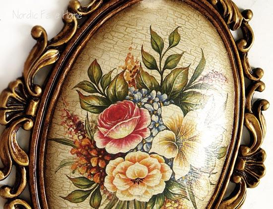 经典欧式美克美家风格 布列塔尼古典手绘陶瓷挂画装饰
