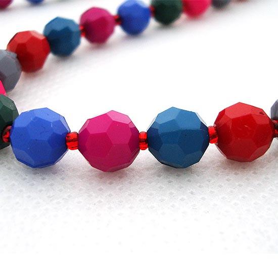 异彩珠-【尺 寸】:项链周长约为 164厘米,珠珠宽约为0.7厘米   此款多彩树图片